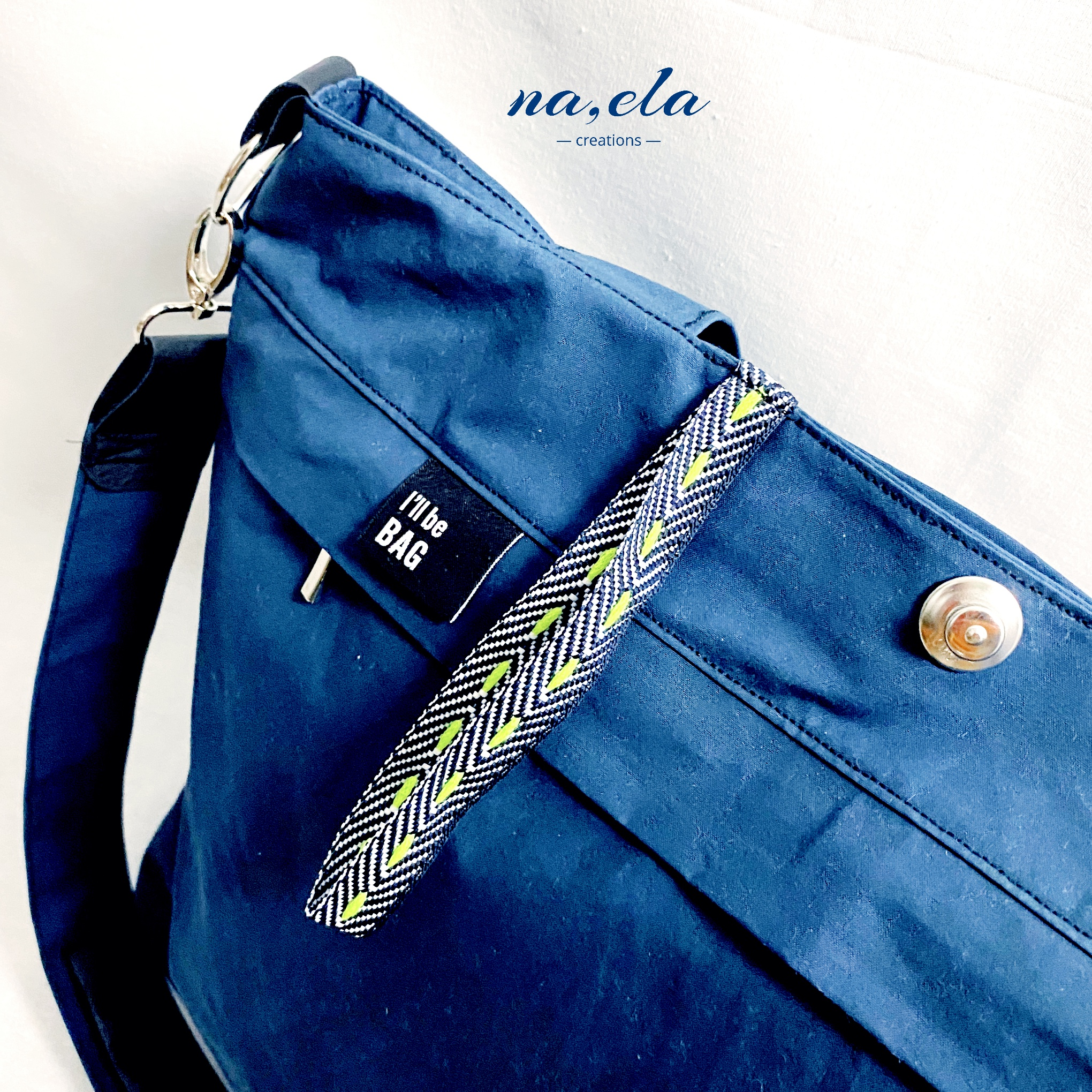 My blu Yello Bag