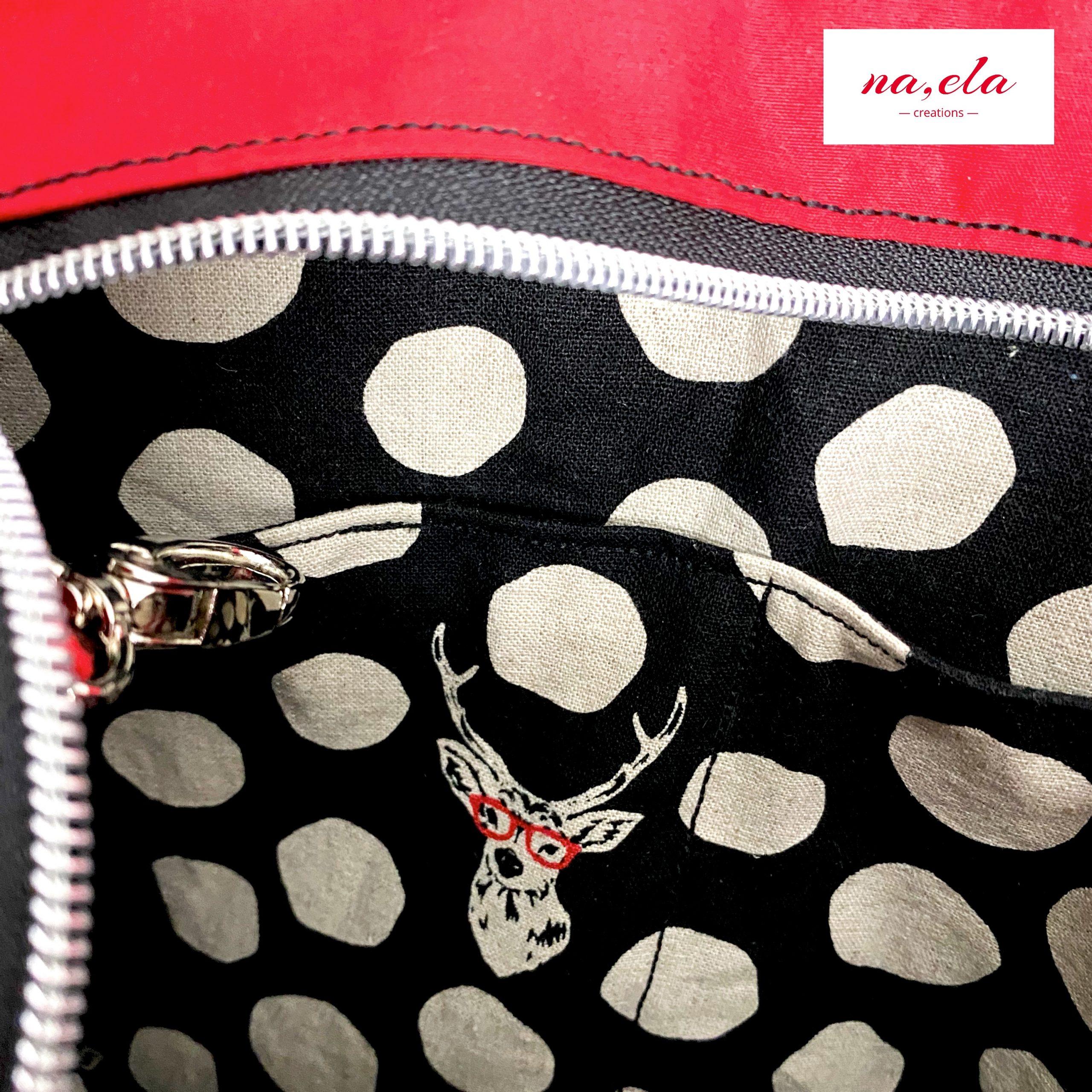 Hoodie ladylike loves citie bag